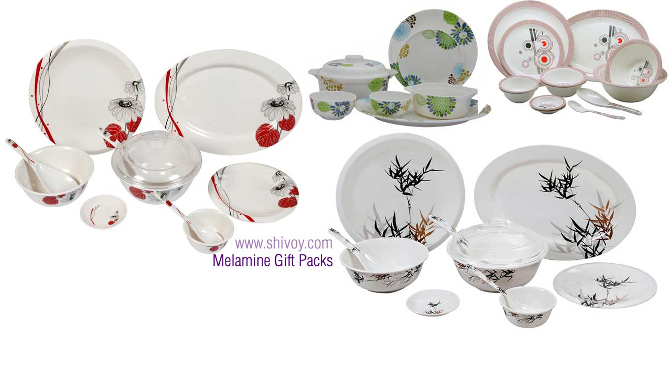 melamine crockery - plastic crockery - home gift crockery - dinner set - soup set - plates - spoons - bowls - plastic catering products manufacturers exporters in india punjab ludhiana